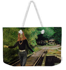 Wish Me A Rainbow Weekender Tote Bag by Ron Richard Baviello