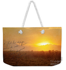 Wish You Were Here Weekender Tote Bag by Beve Brown-Clark Photography
