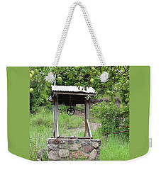 Wished Well For Apples Weekender Tote Bag by Natalie Ortiz
