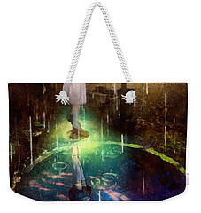 Wishing Well Weekender Tote Bag by Mo T