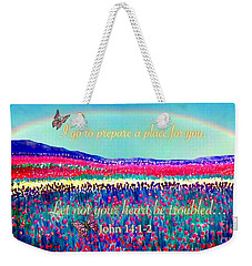 Wishing You The Sunshine Of Tomorrow Bereavement Card Weekender Tote Bag