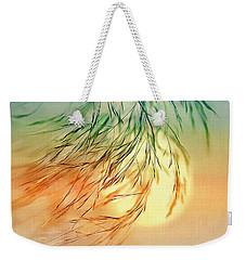 Wispy Sunset-0 Weekender Tote Bag