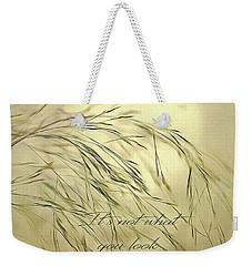 Wispy Sunset-3 Weekender Tote Bag