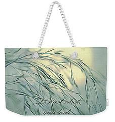 Wispy Sunset-5 Weekender Tote Bag