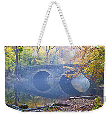 Weekender Tote Bag featuring the photograph Wissahickon Creek At Bells Mill Rd. by Bill Cannon