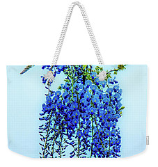 Weekender Tote Bag featuring the photograph Wisteria by Chris Lord