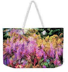 Wisteria In The Spring Weekender Tote Bag
