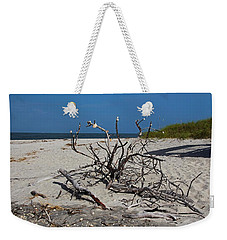 Weekender Tote Bag featuring the photograph Wistful But Unwavering by Michiale Schneider