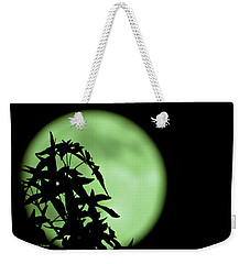 Weekender Tote Bag featuring the photograph Witching Hour by DigiArt Diaries by Vicky B Fuller