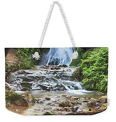 Weekender Tote Bag featuring the photograph With All I Have by Laurie Search
