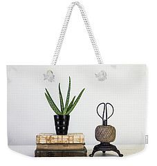 Weekender Tote Bag featuring the photograph With Confidence by Kim Hojnacki