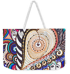 With Deep Thoughts And Tears - Vii Weekender Tote Bag