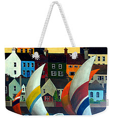With The Wind In Kinsale, West Cork Weekender Tote Bag