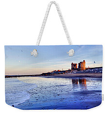 Withernsea Sunset And Moon Weekender Tote Bag