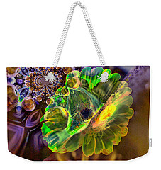 Weekender Tote Bag featuring the photograph Within The Mind Meld by Jeff Swan