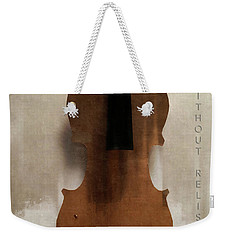 Without Relish  Weekender Tote Bag