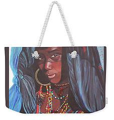 Blue Cat Productions             Wodaabe Girl Weekender Tote Bag