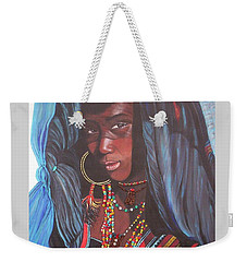 Virtuous Wodaabe Girl          From The Attitude Girls  Weekender Tote Bag