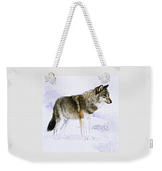 Wolf Weekender Tote Bag
