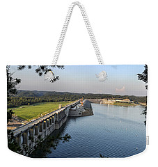 Wolf Creek Dam Weekender Tote Bag
