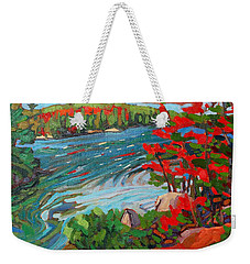 Wolf Creek Weekender Tote Bag