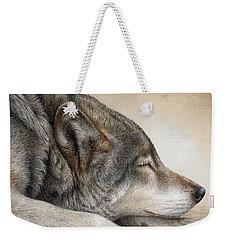 Wolf Nap Weekender Tote Bag