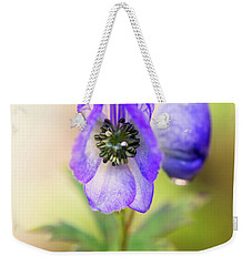Weekender Tote Bag featuring the photograph Wolf's Bane Flower Plant by Nick Biemans