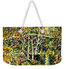 Wolven Moon Weekender Tote Bag by Alfred Motzer