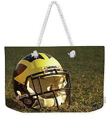Wolverine Helmet In Morning Sunlight Weekender Tote Bag