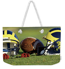 Wolverine Helmets And Roses Weekender Tote Bag