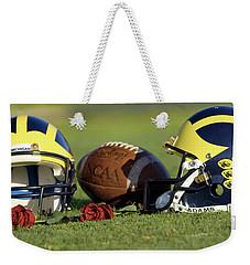 Wolverine Helmets And Roses Weekender Tote Bag