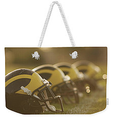 Wolverine Helmets Sparkling In Dawn Sunlight Weekender Tote Bag