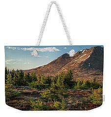 Wolverine Mt Near Sunset Weekender Tote Bag