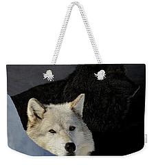 Wolves, Real And Surreal Weekender Tote Bag