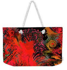 woman art Beautiful Brazilian Woman Weekender Tote Bag