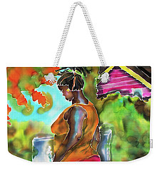 Woman At The Well Weekender Tote Bag