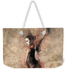 Woman Flamenco Dancer Weekender Tote Bag