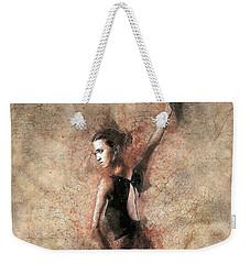 Woman Flamenco Dancer Weekender Tote Bag