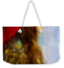 Woman In Medieval Gown Weekender Tote Bag