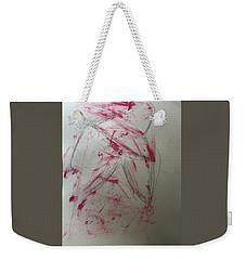 Woman In Wild Grasses Weekender Tote Bag