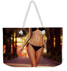 Woman Perfect Body Weekender Tote Bag