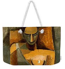 Woman With A Fan Weekender Tote Bag