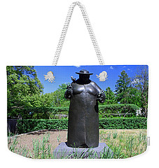 Woman With The Birds Weekender Tote Bag