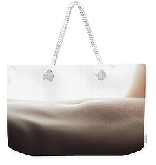 Womans Stomach Weekender Tote Bag