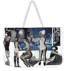 Women At The Movies Weekender Tote Bag