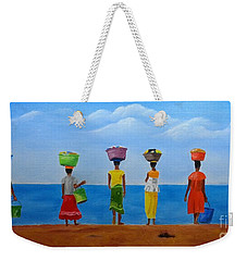Women Of Africa  Weekender Tote Bag
