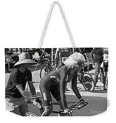 Women's Individual Pursuit Weekender Tote Bag