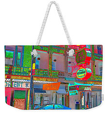 Won Kow, Wow 2 Weekender Tote Bag by Marianne Dow