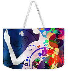 Wonder Weekender Tote Bag by Angelina Vick