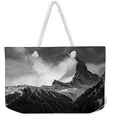 Wonder Of The Alps Weekender Tote Bag